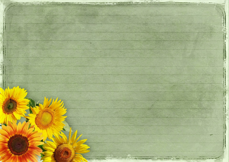 Free Fall Wallpaper With Animals Free Photo Flowers Background Image Frame Vintage