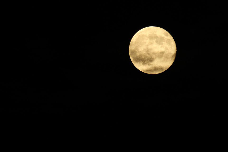 free photo moon dark