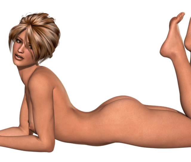 Woman Nude Female Naked Sexy Body Young Skin