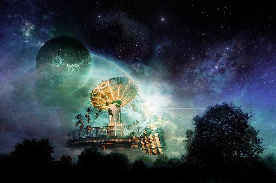1080p Girl Wallpaper Free Photo Sun Planet Moon Sky Space Fantasy Astronomy