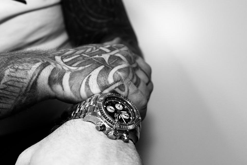 Black Hand Tattoos For Men