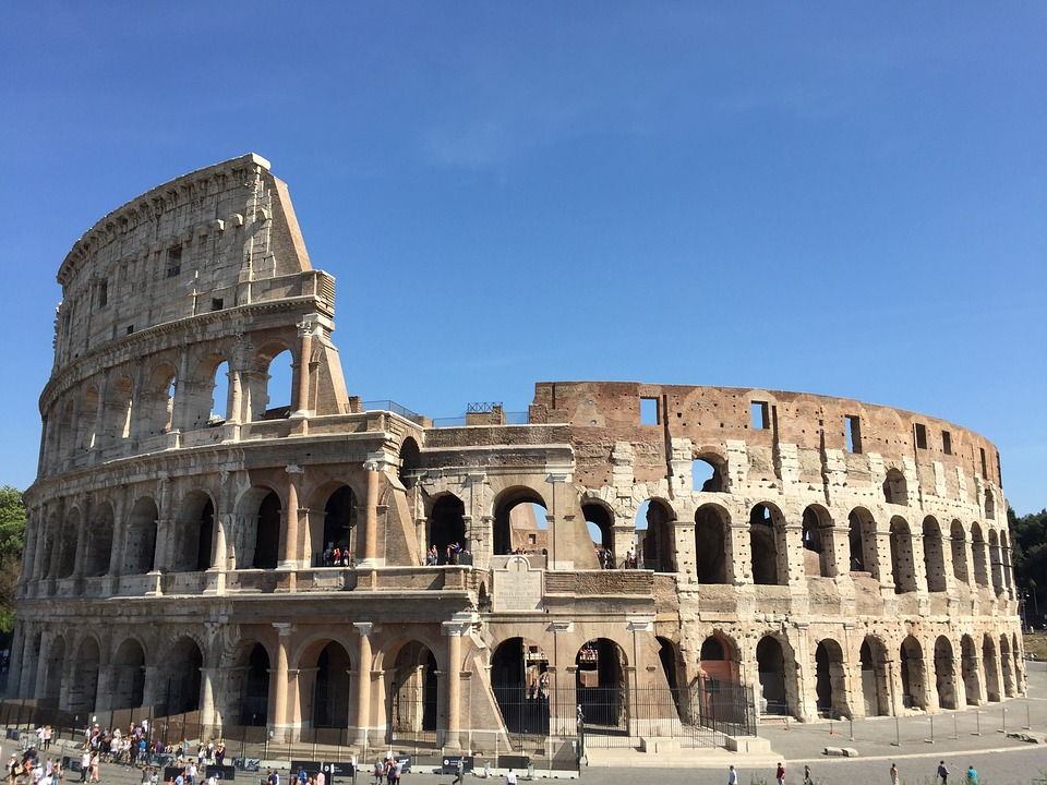Iphone X Wallpaper Black And Blue Free Photo View Of Rome Sights Of Rome Colosseum Rome