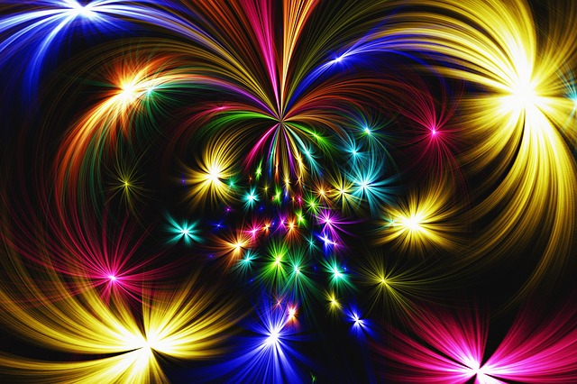 Creative Hd Wallpapers Free Download Free Photo Abstract Fireworks Star Rocket Colorful Max Pixel