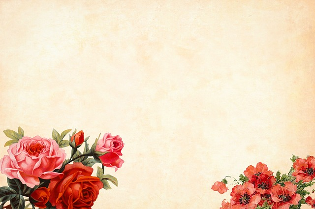 Cute Floral Computer Wallpaper Free Photo Border Watercolor Floral Flower Background