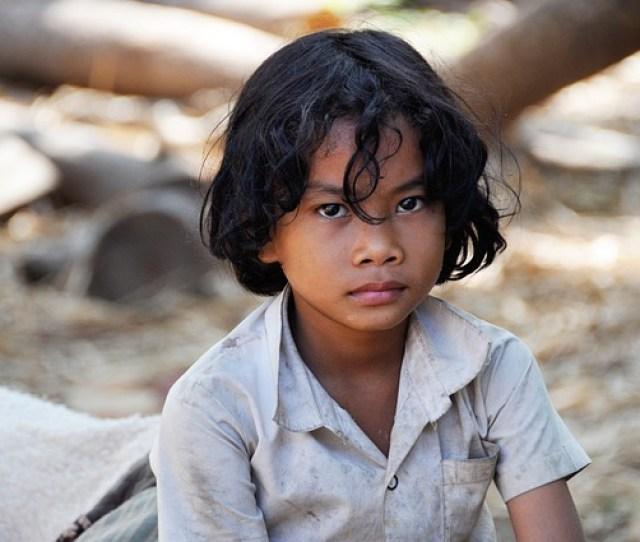 Child Boy Kambotscha