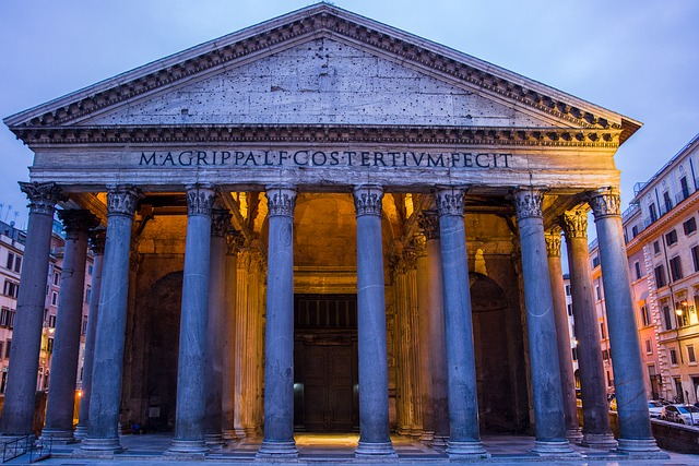 Vertical Wallpaper Hd Free Photo Building Pantheon Architecture Italy Monument