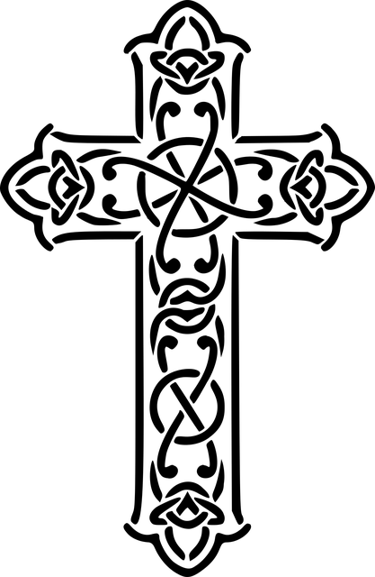Free photo Cross Carved Wooden Cross Crucifix Wayside