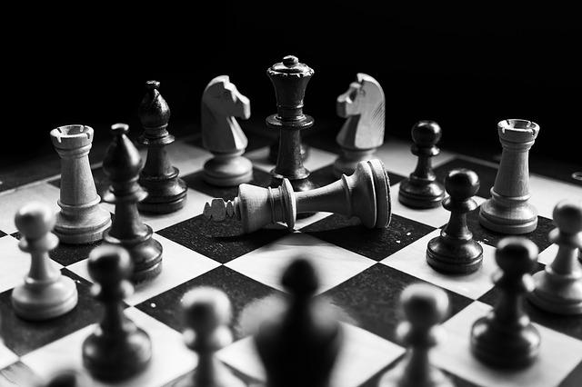free photo checkmated black