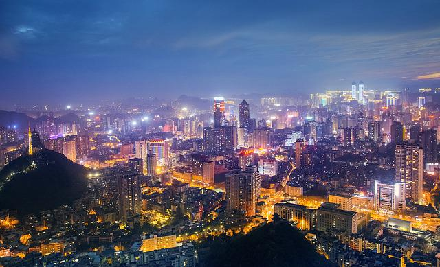 Vertical Wallpaper Hd Free Photo Cityscape Twilight City A Bird S Eye View