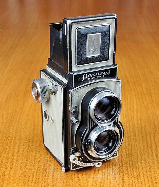 Free photo Flexaret Camera Old Camera Lens Photo Foto