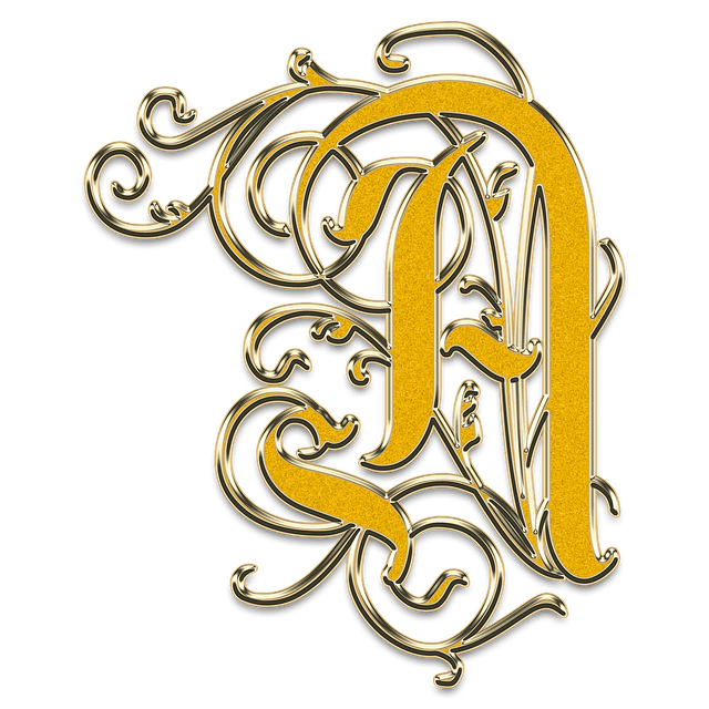Free photo Letter The Letter A A Monogram Vintage  Max Pixel