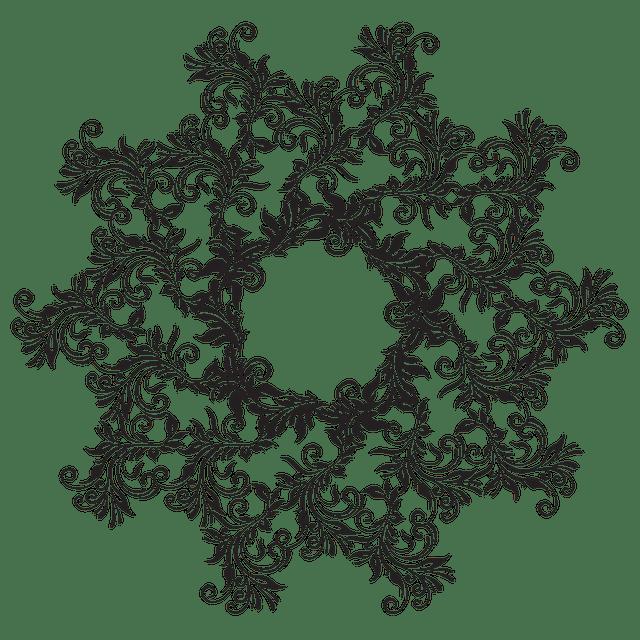 Free photo Pattern Circle Geometric Symbol Sign Mandala