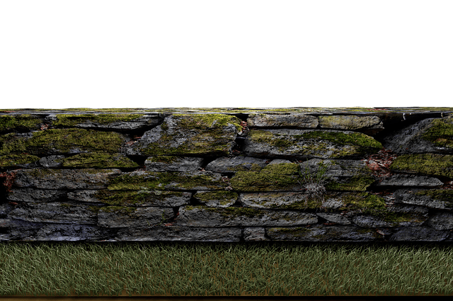 Free photo Stones Isolated Meadow Stone Wall Wall Png