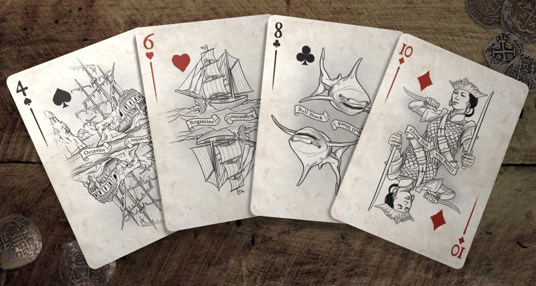 Piratesuncut Max Playing Cards
