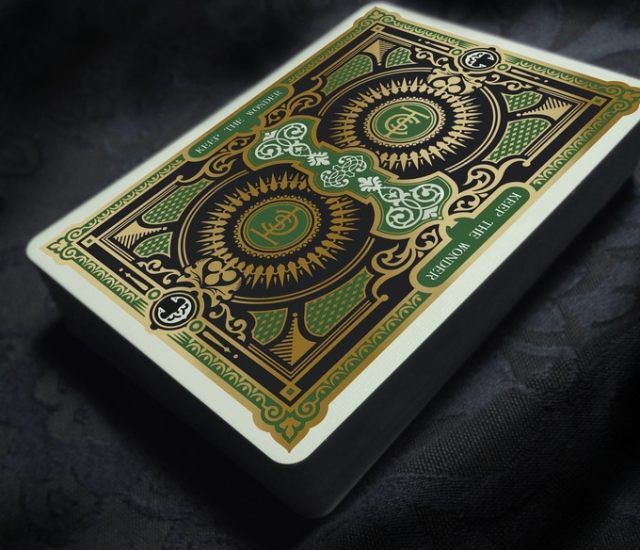 Charmers Playing Cards Green