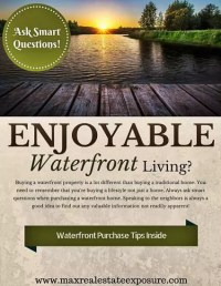 Questions to Ask When Buying a Waterfront Home