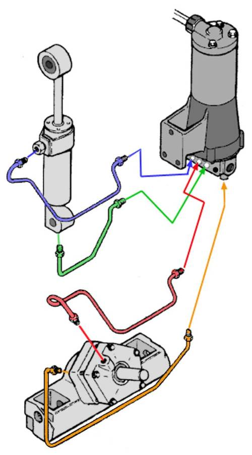 small resolution of chrysler force outboard trim motors solenoids relays mercury trim pump wiring diagram