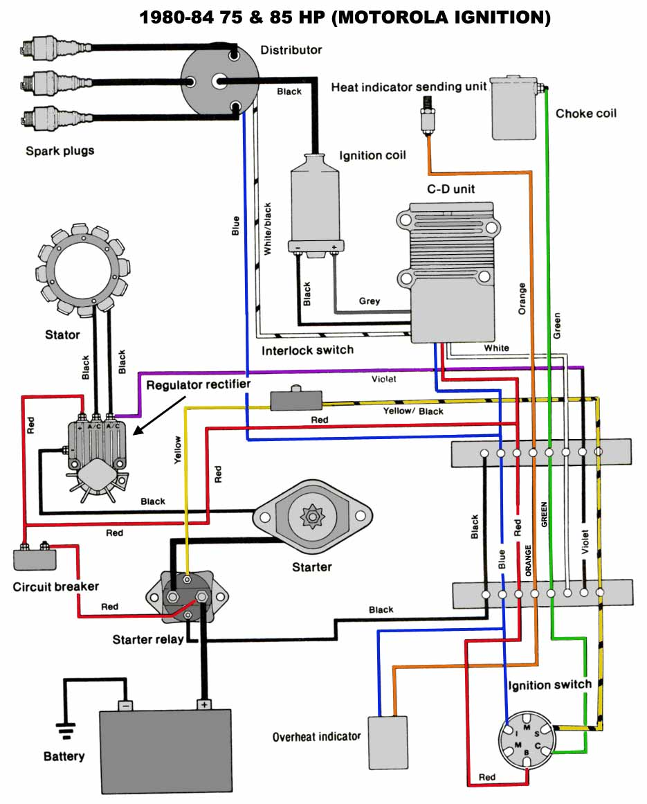 medium resolution of 85 hp chrysler outboard engine diagram 85 get free image 25 hp mercury outboard wiring diagram