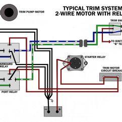 Yamaha Trim Gauge Wiring Diagram 1997 Ford F350 Trailer Outboard Motor