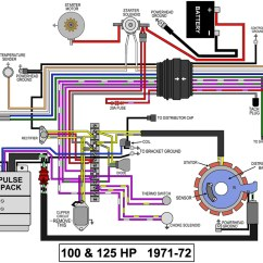 Ford 3000 Distributor Wiring Diagram Cal Spa Heater Evinrude Johnson Outboard Diagrams -- Mastertech Marine