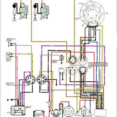 Evinrude 115 Ficht Wiring Diagram Typical Mobile Home Hp Schematic Mahindra Max 25 Library 1996 Outboard Mastertech Marine Johnson