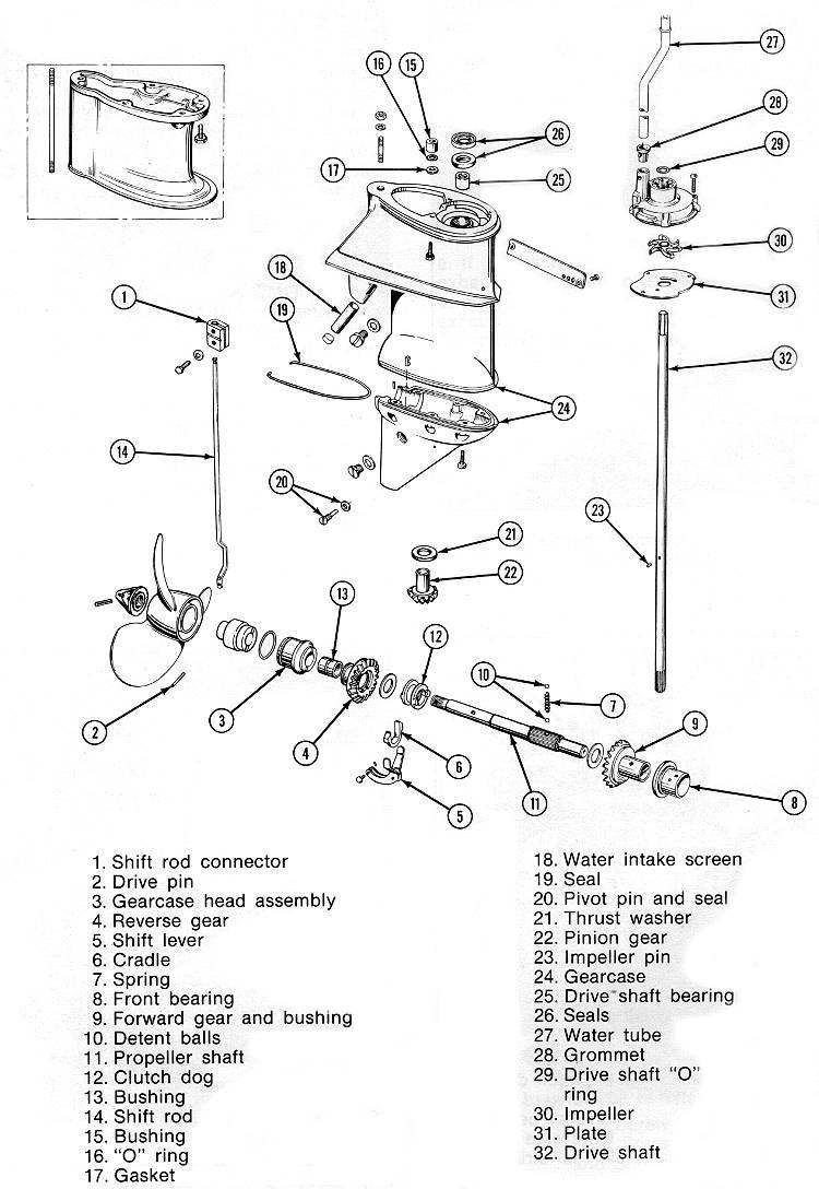 evinrude 15 hp wiring diagram