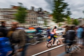 Cyclists in Amsterdam 1
