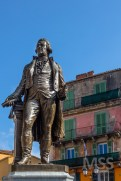 The statue of Pascal Paoli