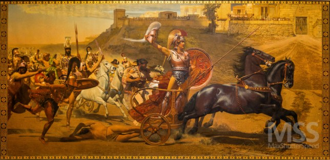 Painting of Achilles