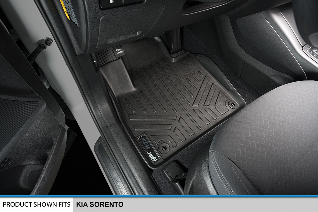 MAXFLOORMAT All Weather Floor Mats Liner for Kia Sorento