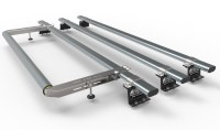 Roller Roof & 100 Lb 16 Inch Wide Steel Floor Roller