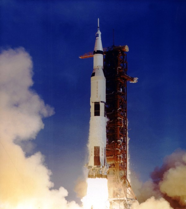 Apollo 11 Saturn V Rocket Launch