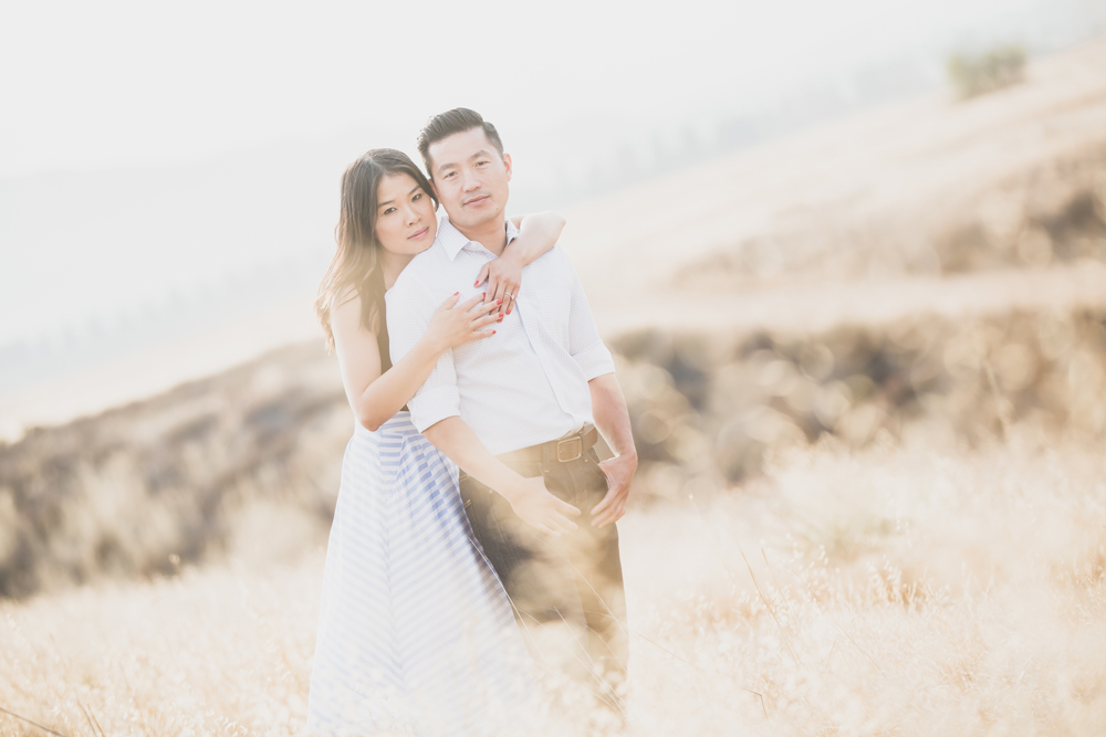 kin + dan | Oak Glen Engagement Session