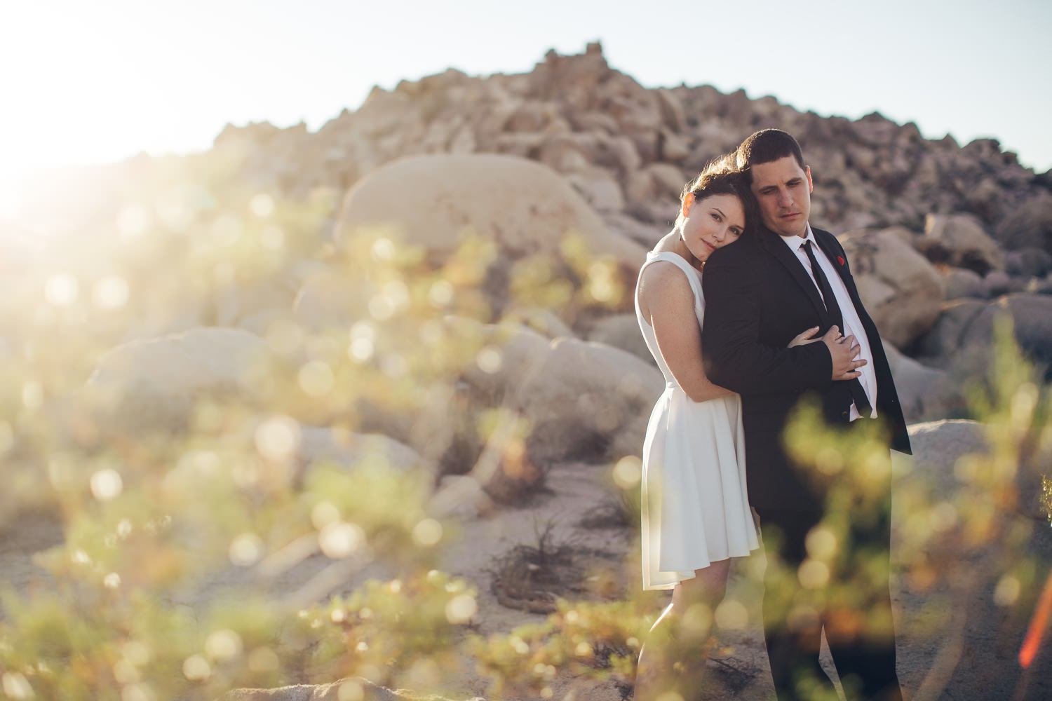 christin & matt | Joshua Tree Elopement