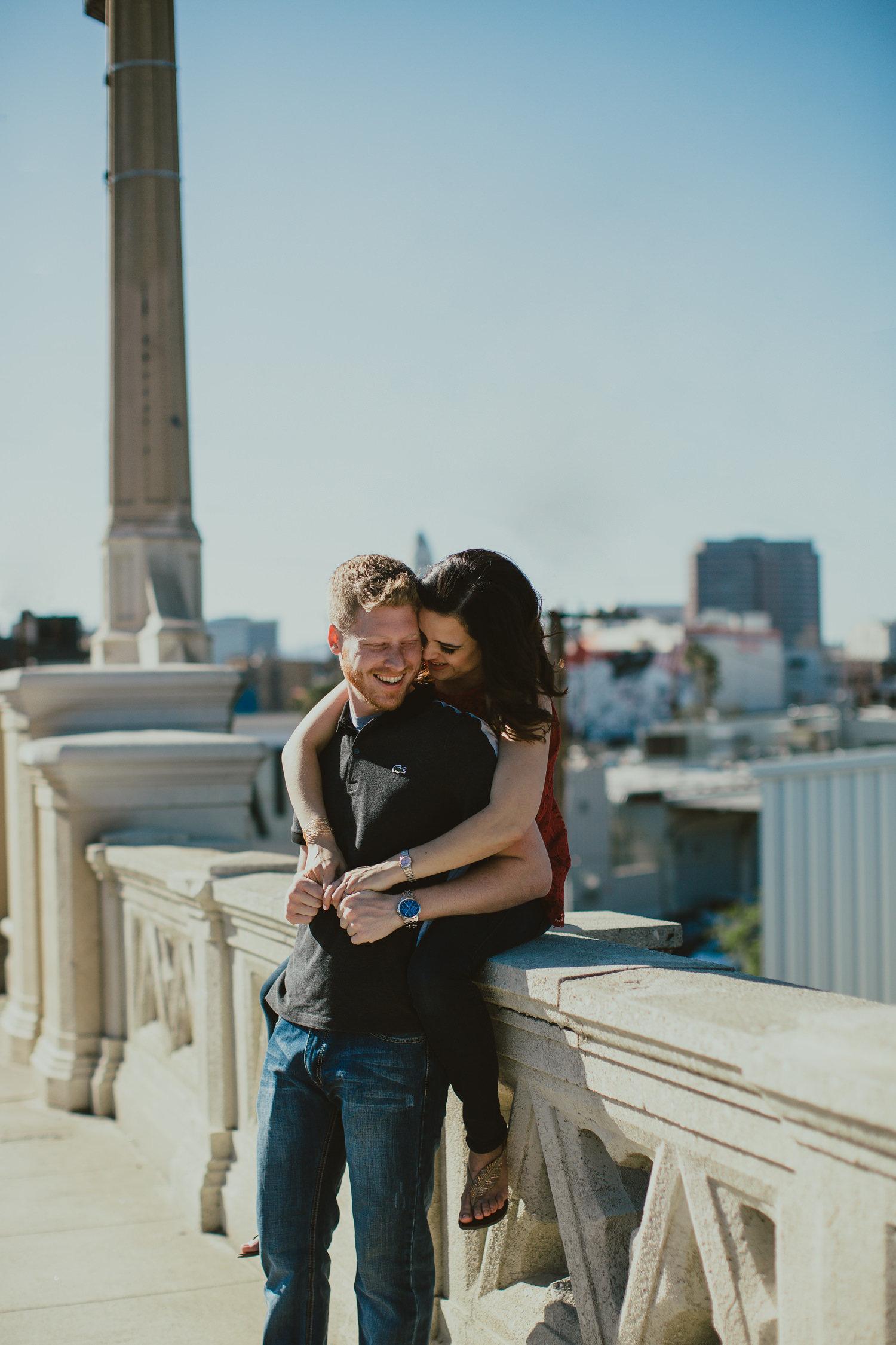 layton + karen | Downtown Los Angeles Session