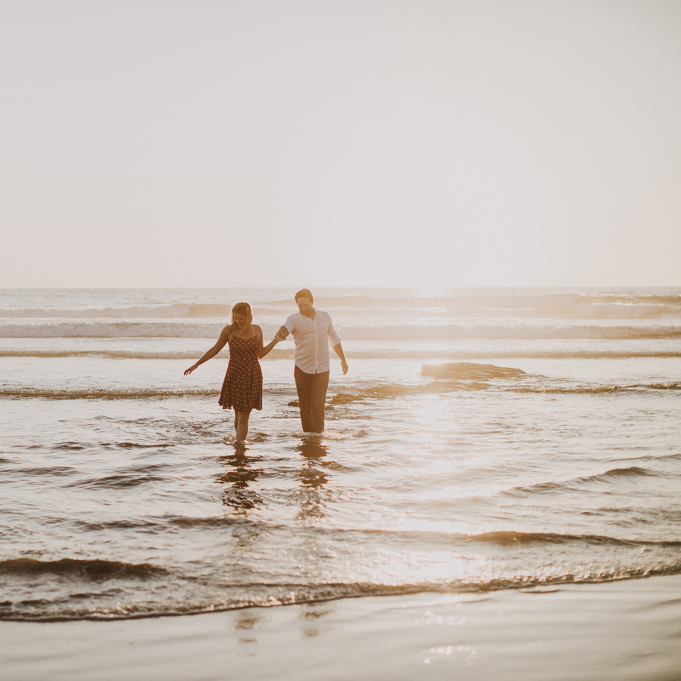 matt + casey | San Diego Beach Session