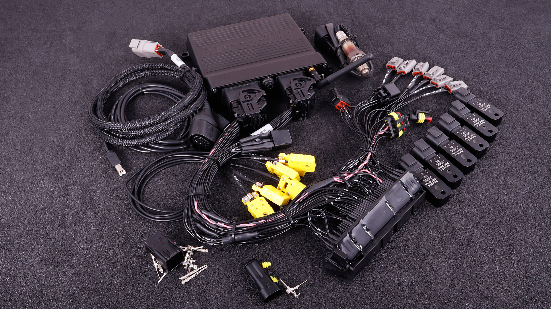 small resolution of maxxecu race plugin for bmw m54 complete kit with bosch lsu 4 2 sensor igbt drivers