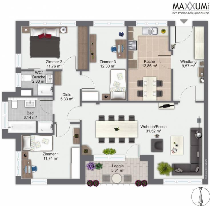 MAXXUM  Ihre Immobilien Spezialisten  Neubau in Gilching