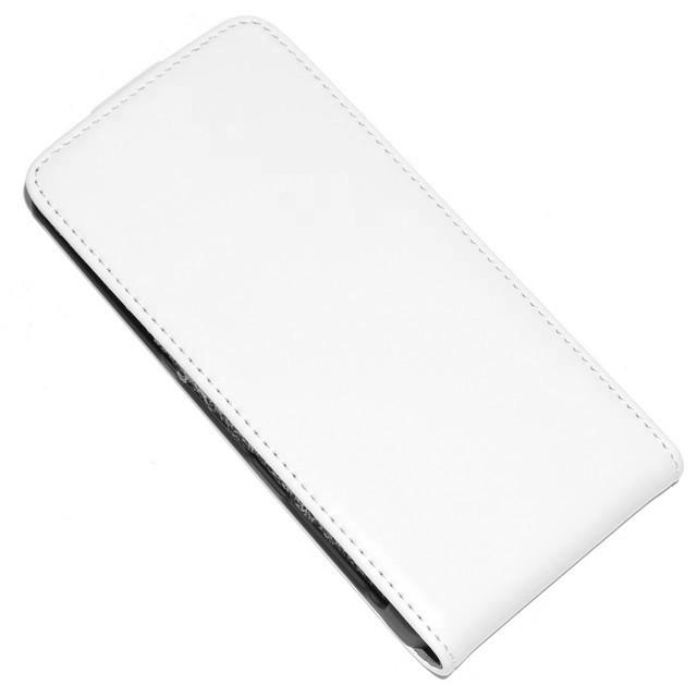 FLIP CUSTODIA BOOK CASE SONY XPERIA Z1 COMPACT WHITE