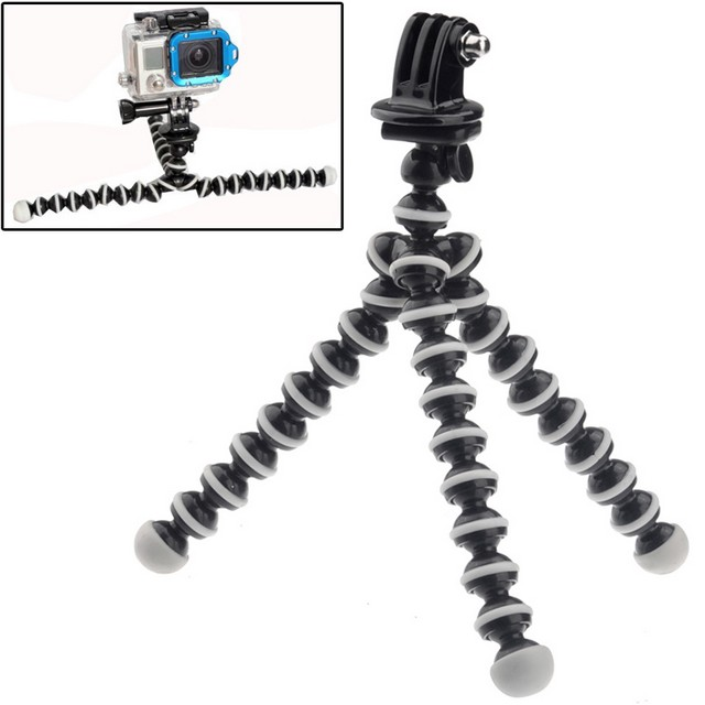 MAXY SUPPORTO TREPPIEDE PER GOPRO HD HERO / ACTION CAM BLACK