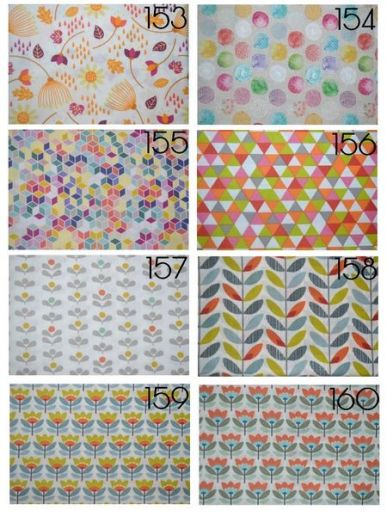 Cotons 153 à 160