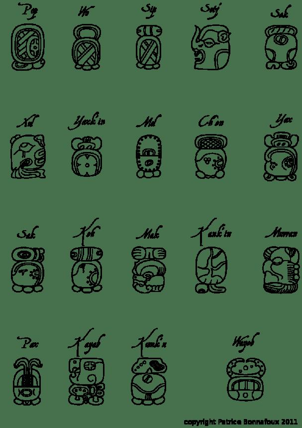 Maya calendar - Haab