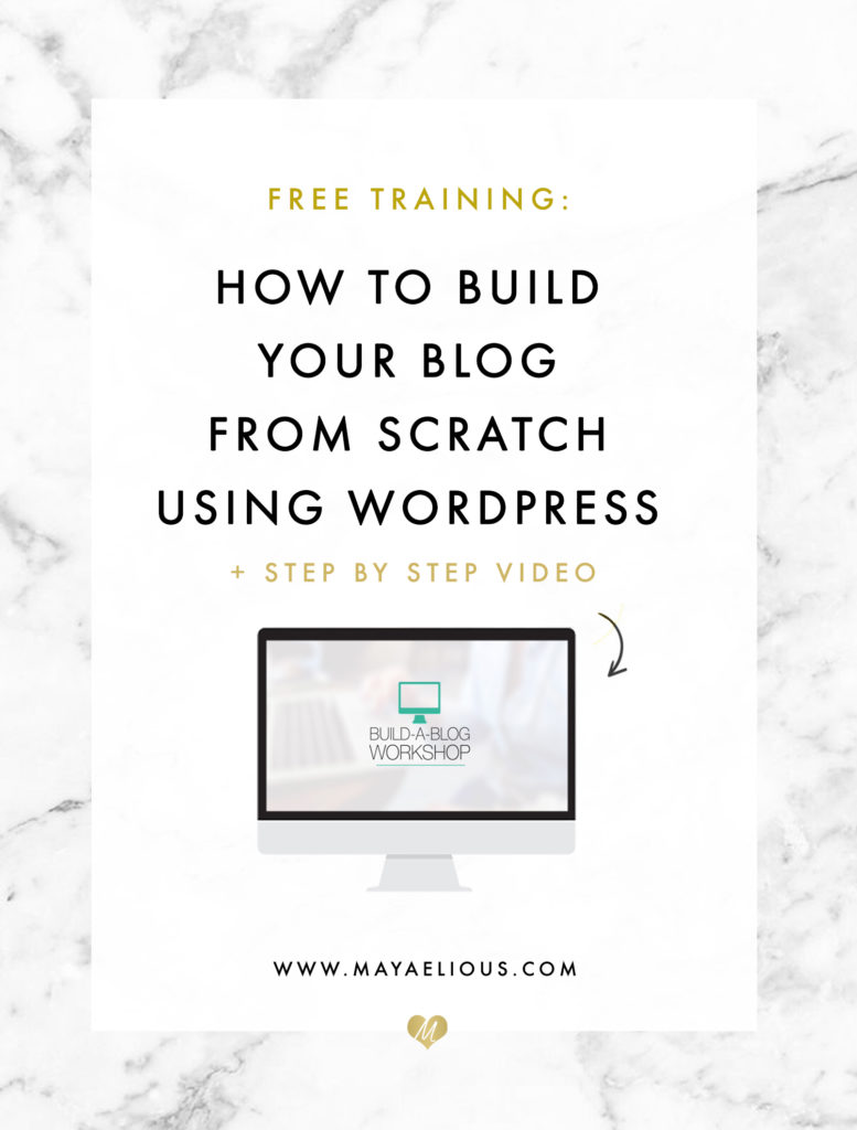 How To Build Your Wordpress Website Or Blog From Scratch