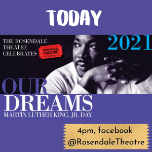 Link to Rosendale Theatre's MLK event