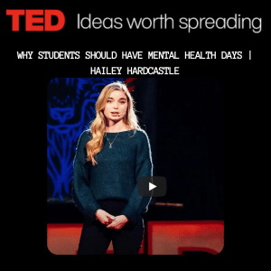 link to TED talk | Hailey Hardcastle