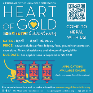 Link to Nepal Teen Trip '22 application