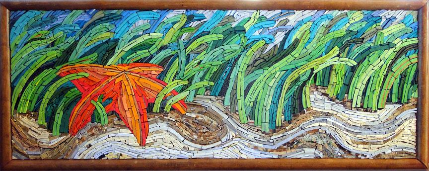 Art and Mosaics at Mayan Beach Garden