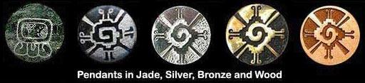 Mayan Pendants