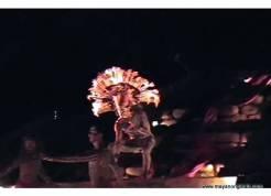 Mayan religious re-enactment