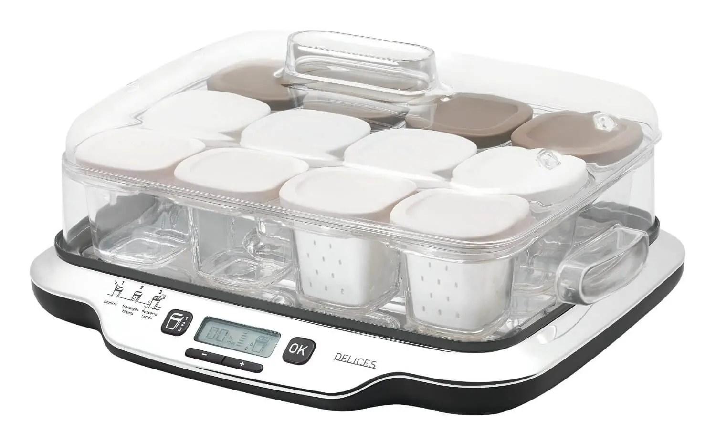 yaourtière seb multidélices 12 pots